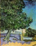 vincent van gogh chestnut trees in bloom painting 23400