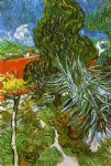 doctor gauchet s garden in auvers by vincent van gogh painting