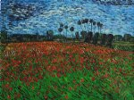 vincent van gogh field of poppies ii painting 23447