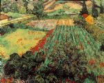 vincent van gogh field with poppies posters