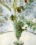flowers posters - flowers in a vase by vincent van gogh