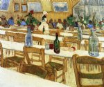 vincent van gogh interior of a restaurant v art