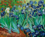 irises ii by vincent van gogh paintings