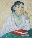 l arlesienne madame ginoux by vincent van gogh paintings