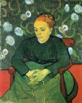 vincent van gogh la berceuse portrait of madame roulin vi painting 23509