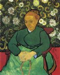 vincent van gogh la berceuse portrait of madame roulin painting 23510
