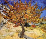 mulberry tree by vincent van gogh painting