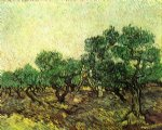 vincent van gogh olive picking v painting