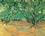 vincent van gogh olive trees painting