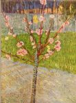 vincent van gogh peach tree in blossom painting 85686