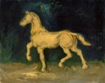 vincent van gogh plaster statuette of a horse paintings 23618