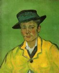 vincent van gogh portrait of armand roulin vi painting 23640