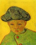 vincent van gogh portrait of camille roulin painting 23643