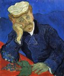 vincent van gogh portrait of doctor gachet painting 23646