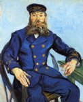 vincent van gogh portrait of joseph roulin viii painting 23648