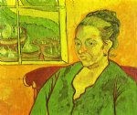vincent van gogh portrait of madame augustine roulin painting 23649