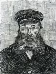 vincent van gogh portrait of the postman joseph roulin v painting 23659