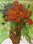 vincent van gogh red poppies and daisies painting 23673