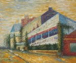 vincent van gogh restaurant de la sirene at asnieres art