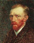 vincent van gogh self portrait paintings