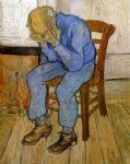 vincent van gogh sorrowful old man painting