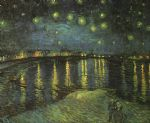 vincent van gogh starry night over the rhone i paintings