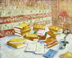 vincent van gogh still life with books painting 24040