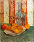 vincent van gogh still life with decanter and lemons on a plate painting 23731