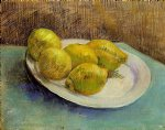 vincent van gogh still life with lemons on a plate painting 23735