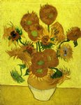 flowers posters - still life with sunflowers vii by vincent van gogh