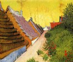 vincent van gogh street in saintes painting-23750