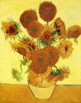 flowers posters - sunflowers vii by vincent van gogh