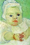the baby marcelle roulin by vincent van gogh painting