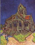 vincent van gogh the church of auvers painting