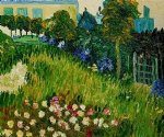 vincent van gogh the garden of daubigny art