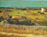 vincent van gogh the harvest arles painting