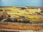 vincent van gogh the harvest iii art