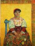 vincent van gogh the italian woman painting 23803
