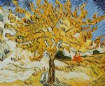 vincent van gogh the mulberry tree gallery wrap painting-23814
