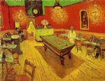 the night cafe by vincent van gogh watercolor paintings