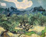 tree artwork - the olive trees by vincent van gogh