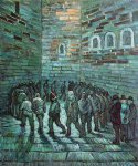 vincent van gogh the prison exercise yard ii paintings
