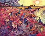 the red vineyard by vincent van gogh original paintings