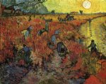 vincent van gogh the red vinyard painting