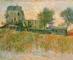 vincent van gogh the restaurant de la sirene at asnieres art