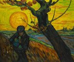 the sower ii by vincent van gogh painting