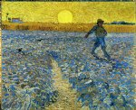 the sower iv by vincent van gogh painting