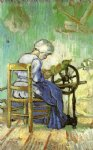 vincent van gogh the spinner painting