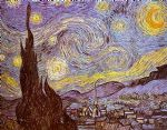 vincent van gogh the starry night saint remy painting