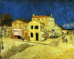 vincent van gogh the street the yellow house painting-23852
